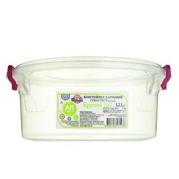 Контейнер Ал-Пластик пищевой 1,2л - купить, цены на Таврия В - фото 2