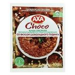 Каша вівсяна AXA з вершками та какао миттєвого приготування 40г