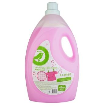 Auchan Exotic Rinse Aid for Linen 4l - buy, prices for Auchan - photo 1