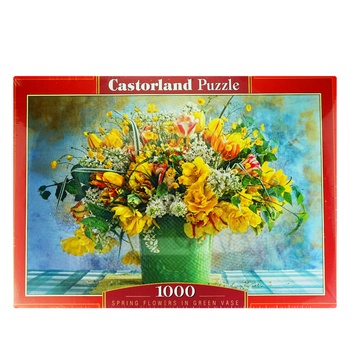 Іграшка-Пазл Castorland 1000 картини - купити, ціни на Ашан - фото 1