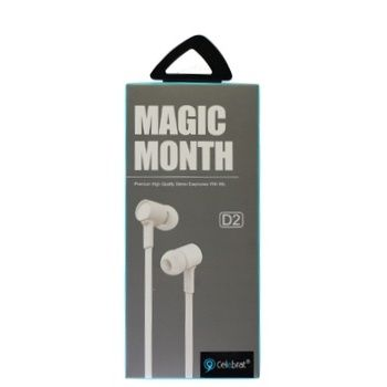 Наушники Celebrat D2 Magic Month