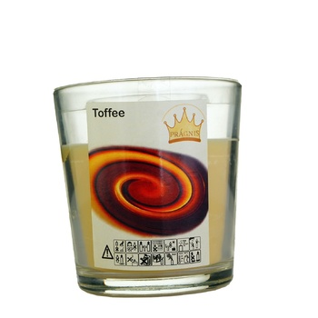 Pragnis Toffee Candle 7,9х8,3cm
