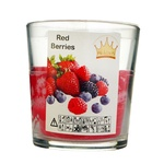 Свеча Pragnis красные ягоды 7,9х8,3см