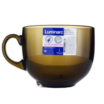 Чашка Luminarc Джамбо стекло 500мл - купить, цены на Ашан - фото 1