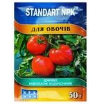 Удобрение Standart NPK водорастворимое для овощей 50г