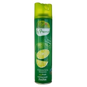 Освіжувач повітря Provence Green Collection карибський лайм 300мл - купити, ціни на Ашан - фото 1