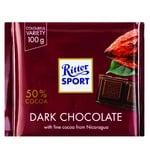 Ritter Sport Dark Chocolate 50% 100g