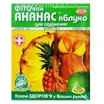 Фіточай Ключі Здоров'я ананас та яблуко для схуднення 20шт 1.5г
