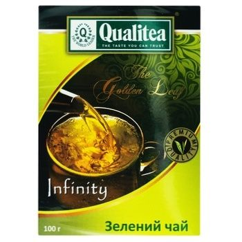 Qualitea Green Tea - buy, prices for MegaMarket - image 1