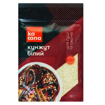 Katana White Sesame 50g - buy, prices for MegaMarket - image 1