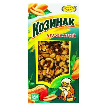 Козинак Дуже Смачно Арахісовий 100г - купити, ціни на Ашан - фото 1