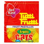 Конфеты жевательные Red Band Tutti-frutti Cars 15г