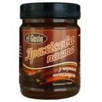 Паста арахисовая El Gusto с черным шоколадом 270г