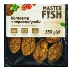 Котлеты Master Fish из красной рыбы жареные охлажденные 350г