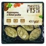 Котлеты Master Fish из белой рыбы жареные охлажденные 430г