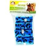Пакеты Помощница Чистогав Био для уборки за собаками 4уп*15шт