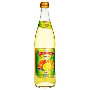 Gruzynskyi Buket Citro Carbonated Drink 0,5l