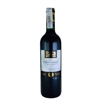 Champs de Beneyteau Bordeaux Red Wine 13% 0,75l - buy, prices for Auchan - photo 1