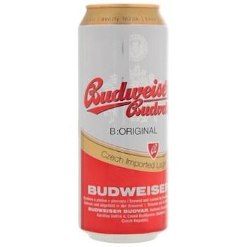 Пиво Budweiser Budvar светлое 5% 0,5л