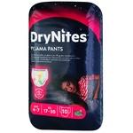 Ночные трусики-подгузники Huggies DryNites для девочек 4-7лет 10шт