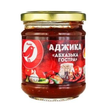 Аджика Ашан Абхазская острая 200г - купить, цены на Ашан - фото 1