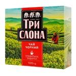 Чай черный Три Слона листовой 100г