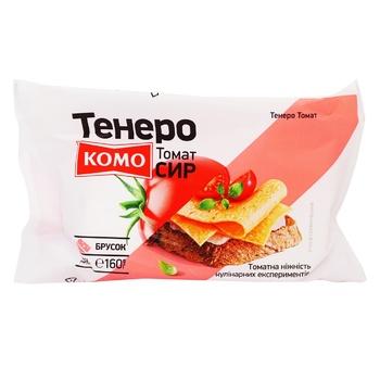 Сир Комо Тенеро з томатом 50% 160г - купити, ціни на Ашан - фото 1