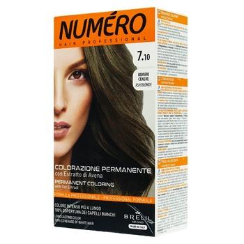 Фарба для волосся Numero 7.10 Попелястий русявий