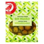 Auchan Pitted Green Olives 180g