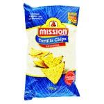 Чипсы Missions кукурузные с солью 175г