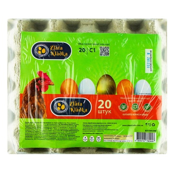 Zlata kladka Chicken Eggs C1 20pcs