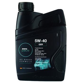 Олива моторна Avista 5W-40 1л