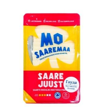 Сыр Saaremaa Saare Juust Гауда без лактозы и без глютена 24% 150г - купить, цены на Ашан - фото 1