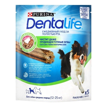 Purina DentaLife Delicacies for Dogs of Medium Breeds 115g - buy, prices for CityMarket - photo 1