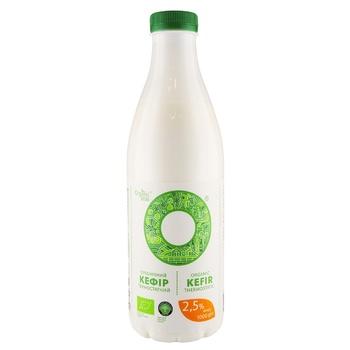 Кефир Органик милк термостатный органический 2.5% 1000г - купить, цены на Восторг - фото 1