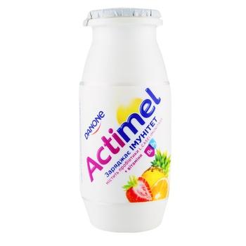 Danone Actimel Multifruit Flavored Fermented Milk Product 1,5% 100g - buy, prices for EKO Market - photo 1