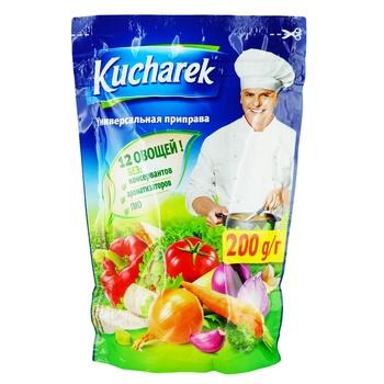 Приправа Кухарек універсальна 200г - купити, ціни на CітіМаркет - фото 1