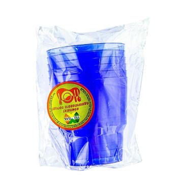 Unipak Glass Plastic Disposable 6pcs