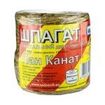 Шпагат пакувальний Радосвіт Пан канат бобіна 60м - купити, ціни на Ашан - фото 1