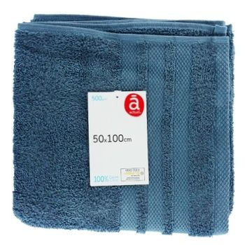 Полотенце Actuel 500GSM 50*100см - купить, цены на Ашан - фото 1
