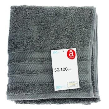 Полотенце Actuel SLE хлопок 500GSM 50*100см - купить, цены на Ашан - фото 1