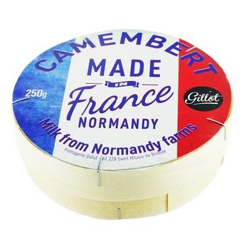 Gillot Camembert Cheese 45% 250g