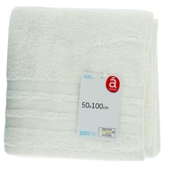 Полотенце Actuel OW хлопок 500GSM 50*100см - купить, цены на Ашан - фото 1