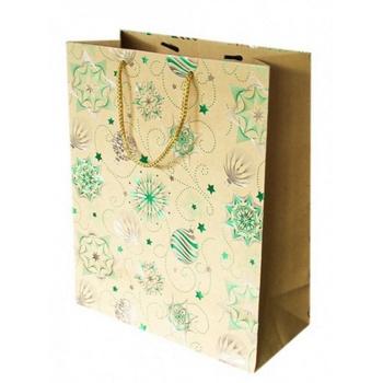 Пакет подарунковий 26*32*12см в асортименті - купити, ціни на Ашан - фото 1