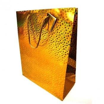 Пакет подарочный 26*32*12см - купить, цены на Ашан - фото 2