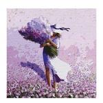 Ideyka Flower Field Painting by Numbers 40*40cm