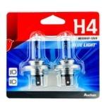 Комплект автоламп Ашан Blue Light H4 60/55Вт 12В