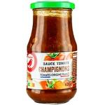 Auchan Tomato Sauce with Mushrooms 420g