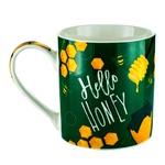 Чашка S&T Hello Honey фарфоровая 400мл