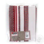 Voltex Melange Red Tablecloth 120*145cm